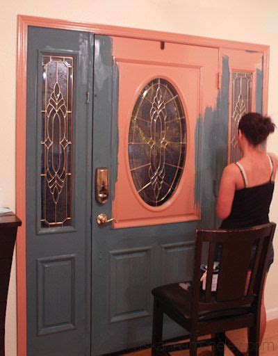 chalk paint the front door 175 best images about chalk painted furniture on