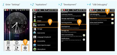 android enable usb debugging what can i do if the program does not recognize my android device