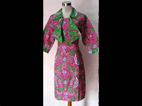 Supplier Baju Basic Dress Hq 8 baju kerja batik model dress bolero zie zie pink
