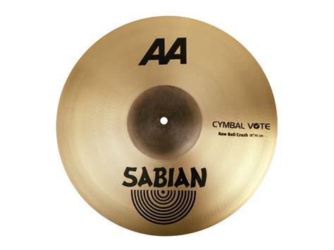 Cymbal Bell Nl crash cymbal sabian 2180772 aa series bell 18 quot