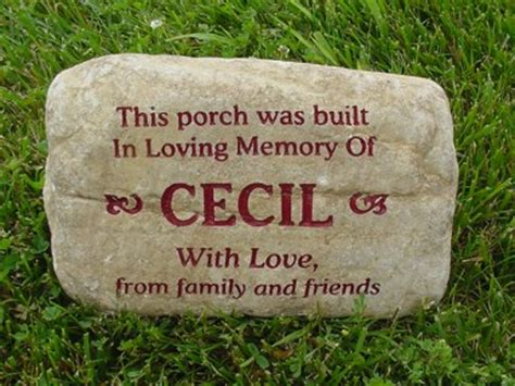 custom garden rocks engraved garden stones personalized garden rocks and