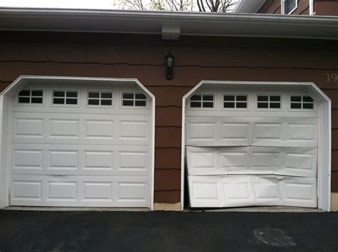 garage door garage fix i just got a new garage door