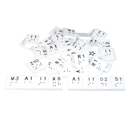 braille scrabble maxiaids scrabble tiles with braille markings