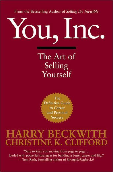 your inc you inc the of selling yourself by harry beckwith