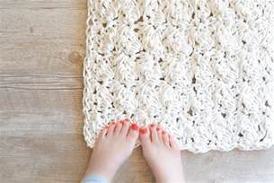 Rug Store Ta how to crochet a bath rug with rope in a stitch