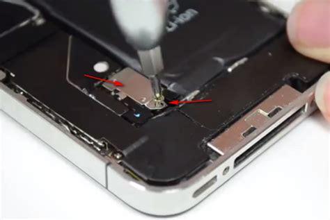 Obeng Pembuka Iphone cara membuka casing hp iphone 5s dengan cermat dan hati