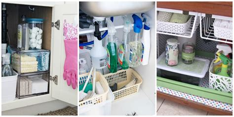 under kitchen sink organizing ideas under the sink organization bathroom and kitchen