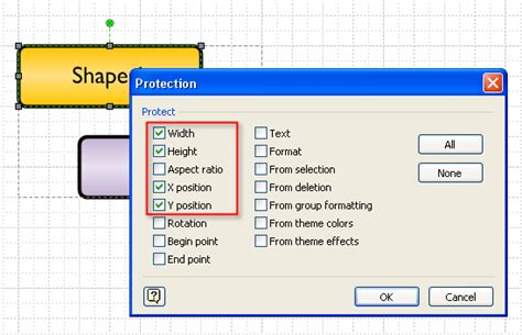 visio lock shape getting a handle on selecting and subselecting visio