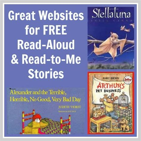 books read aloud stories for the kid and for on
