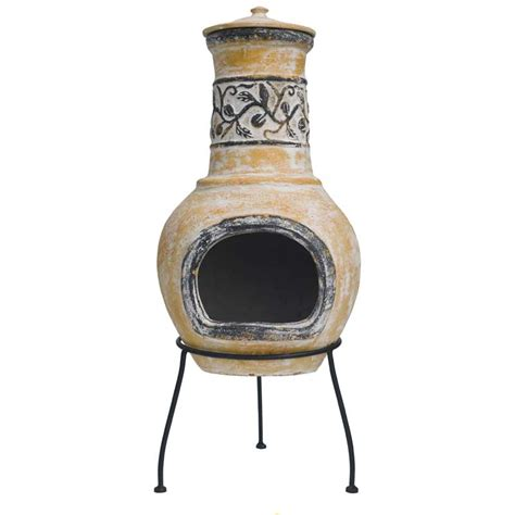 sale chiminea chiminea medium black cast iron