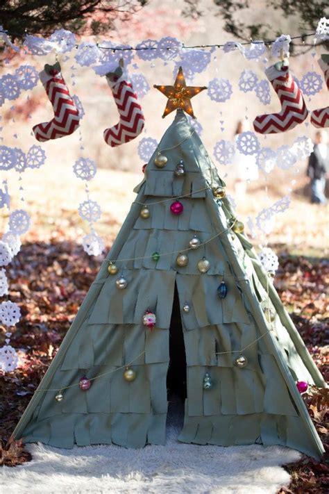 christmas tree kids teepee tent  dsmeebeekids  etsy  kids teepee tent diy
