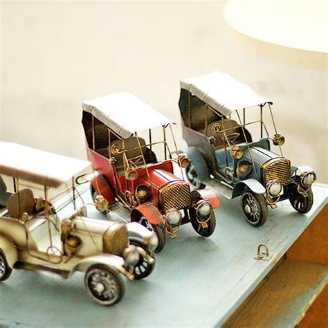 Classic Car Home Decor by Vintage Decor Metal Craft Retro Car Model Home Office