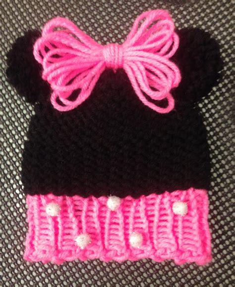Minnie Mouse Knit Hat Pattern Studio Design Gallery