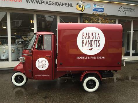 Piaggio Ape Truk Plus piaggio ape classic 400 with salesunit food truck