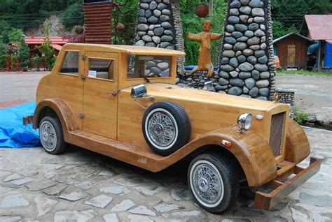wooden car wooden car made by locals in uzungol not your everyday