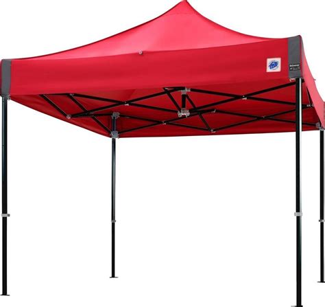 shop royal outdoor products 10 x 10 esquire ultra vinyl e z up endeavor instant folding shelter aluminum canopy 10