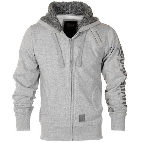 Print Fleece Arm Sleeves mens crosshatch sherpa lined hooded fleece top arm print