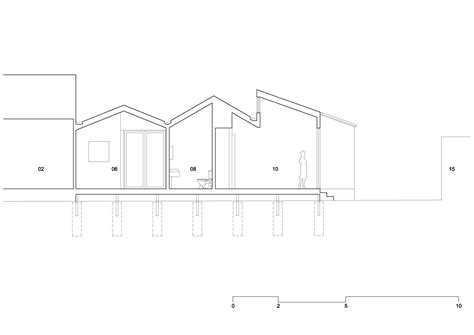 c section line gallery of profile house black line one x architecture