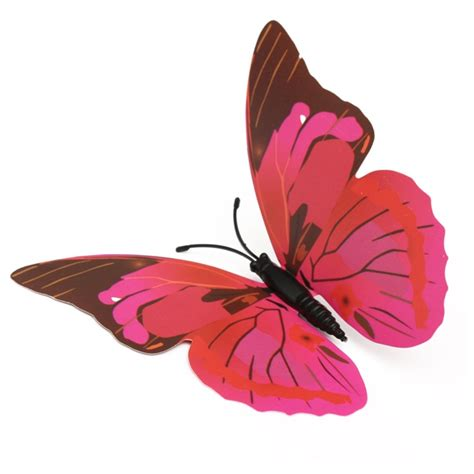 your supermart 12pcs 3d butterfly 12pcs 3d butterfly wall sticker fridge magnet home decor