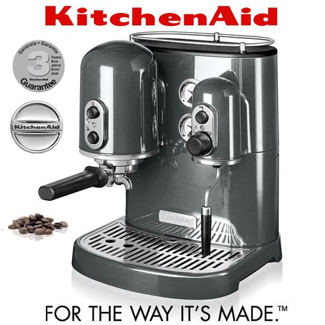 espresso machine kitchenaid kitchenaid artisan espresso maker pearl metallic