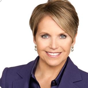 photo of katie currick short hair katie couric with short hair