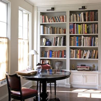 Library Bookcase Lighting Library Lights Built In Bookcases Pinterest