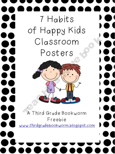 Pdf 7 Habits Happy 7 habits of happy classroom poster set product from