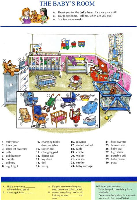 Living Room Materials List 16 The Baby S Room Pictures Dictionary Study
