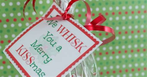 printable whisk label  whisk   merry kissmas cute gift idea  printable