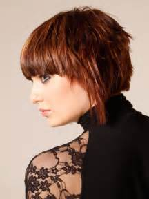 choppy layered hairstyles front back and sides choppy layered bob with bangs long hairstyles