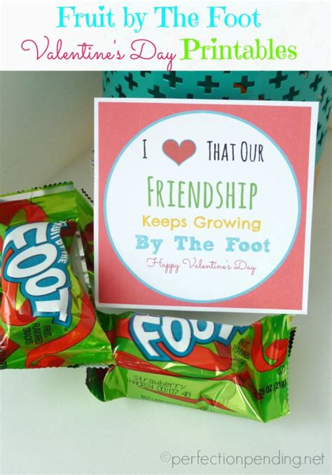 fruit valentines fruit by the foot printables for birthdays and s