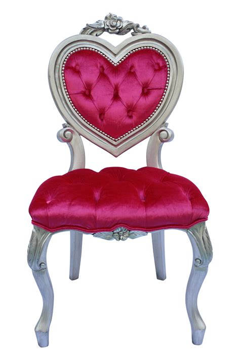 furniture upholstered vanity chair with heart shaped heart shaped french victorian parlour chair chairish