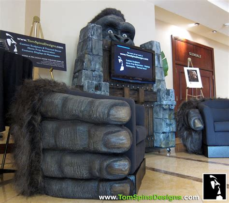 home theater design king systems llc king kong gorilla themed furniture hand chairs tom