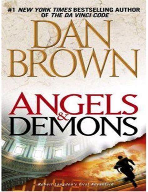 And Demons By Dan Brown Novel Ebook demons by dan brown