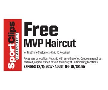 mvp haircuts coupons localflavor com sport clips coupons
