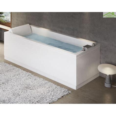 baignoire acrylique novellini calos maison de la tendance