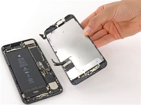 iphone 7 plus display assembly replacement ifixit repair guide