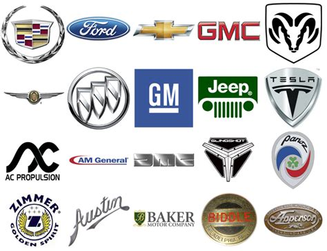 list of car brands american car brands companies and manufacturers world