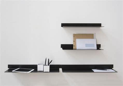 Wall Shelf Design Tablette Murale Teeline 60 Cm Lot De 4 Acier