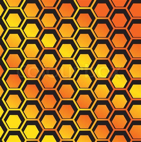 honeycomb pattern corel draw vector seamless honeycomb pattern vector stock vector colourbox