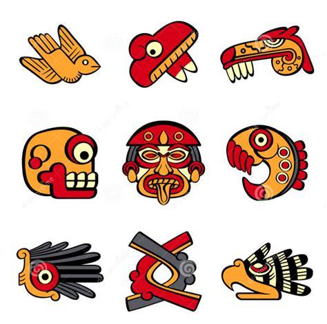 imagenes de signos aztecas image gallery simbolos aztecas