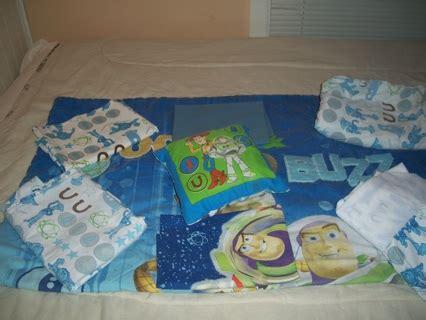 toy story crib bedding free toy story 8pc reversible toddler crib bedding set