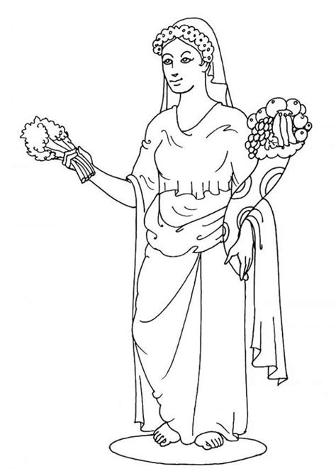 coloring pages god s family greek gods and goddesses coloring pages coloring home