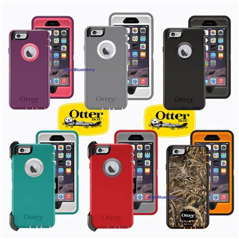 new otterbox defender series cover for the iphone 6 with belt clip holster ebay