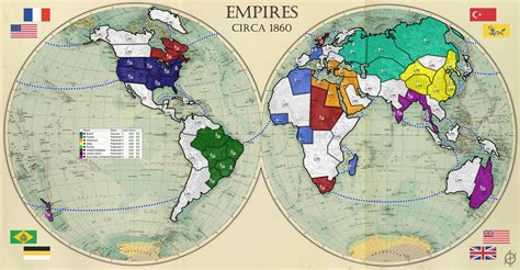 map of ancient empire empires map