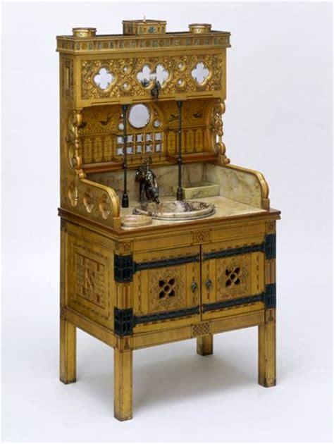 design house furniture victoria vita nova washstand william burges circa 1880 victorian