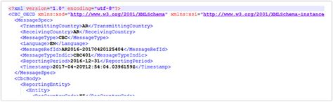Country By Country Reporting Template Oecd Challenges When Creating The Oecd Xml Schema For Cbc