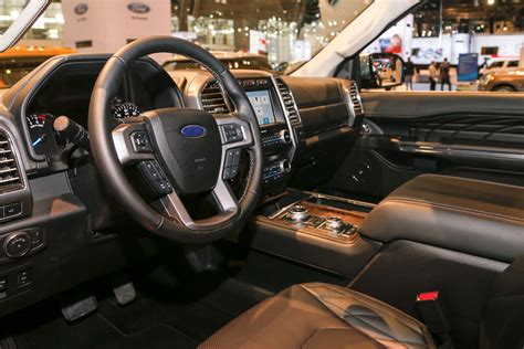 2017 ford expedition platinum interior 2018 ford expedition look review bigger but lighter