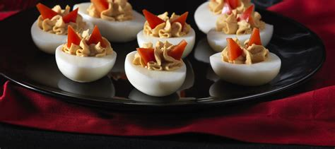 Deviled Eggs Shelf by Devilish Deviled Eggs Recipe Dairy Goodness