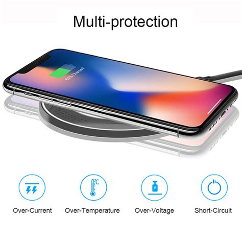 qi  fast wireless charger charging pad  huawei pmate  pro samsung  ebay